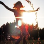 Tančí ve slunci