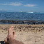 Na plazi Tahiti - Toaroto