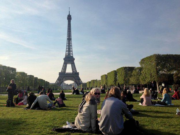 Brzké jaro v Paříži