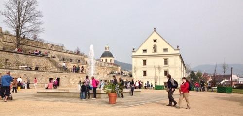 Zámecké zahrady v Děčíně otevřeny