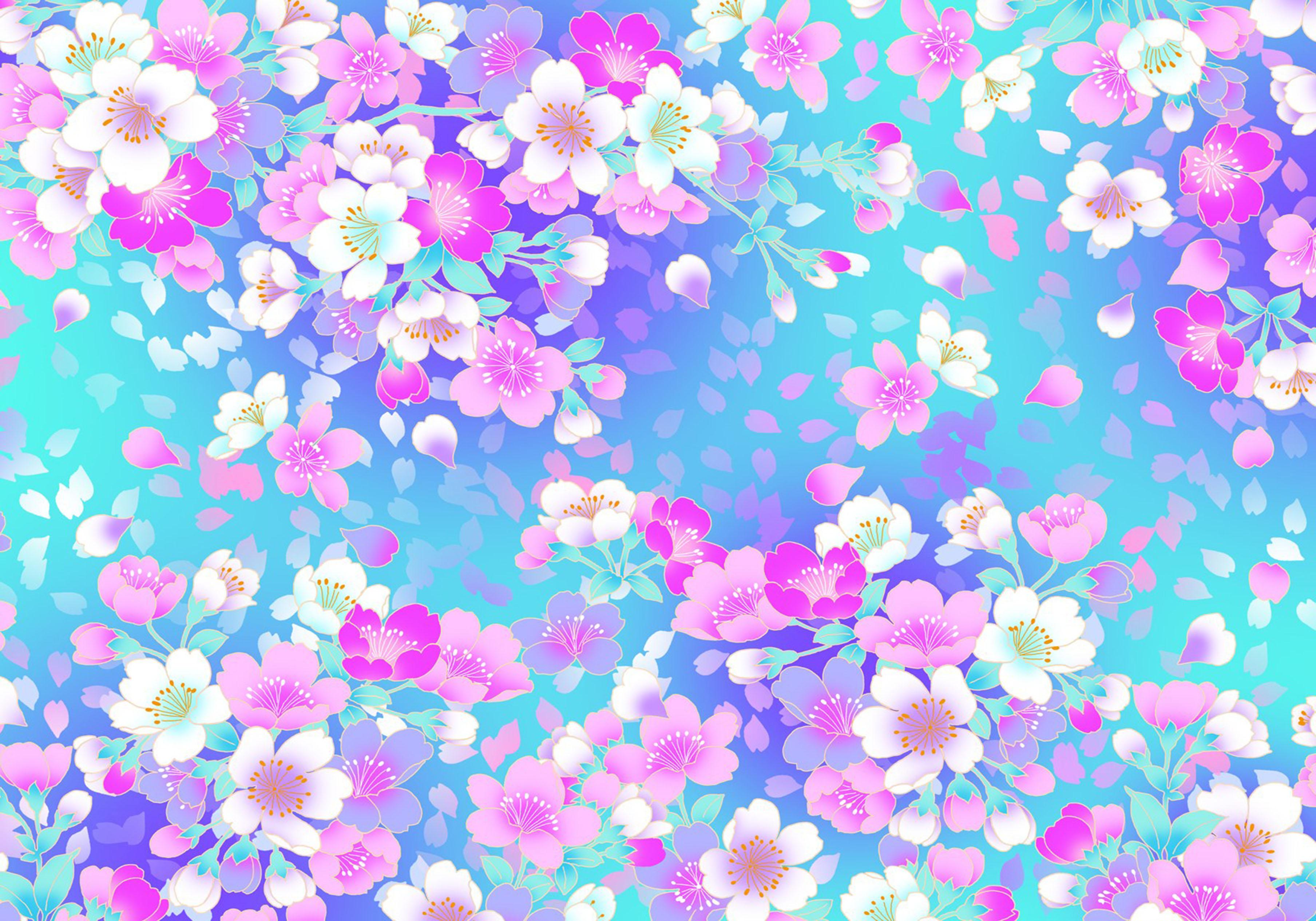 Origami Cherry Blossom Pattern